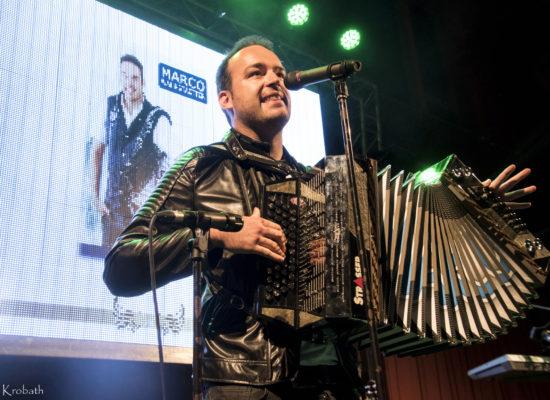 Marco live auf der Bühne