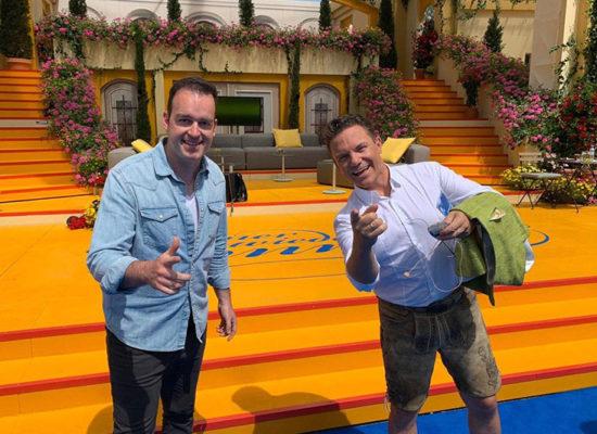 Marco ARD mit Stefan Mross